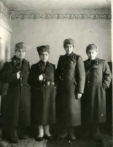 Носарев Никулин Спиридонов Лощиц 1945