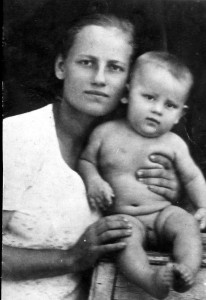 С мамой 1939