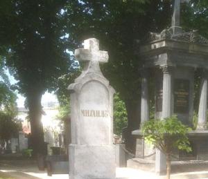 Могила генерала Михаила Алексеева в Ново Гробле