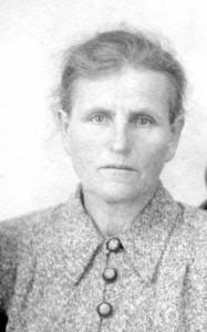 Бабушка Даша. 1954