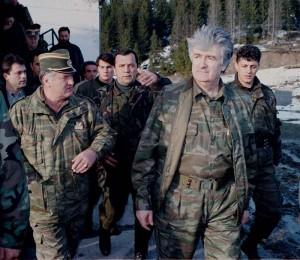 Радован Караджич и  генерал Ратко Младич